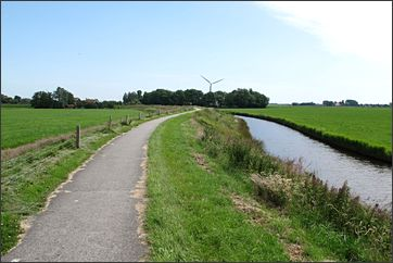 door de Friese hooi- en weilanden
