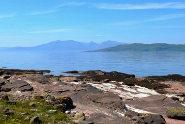 de kust van Great Cumbrae