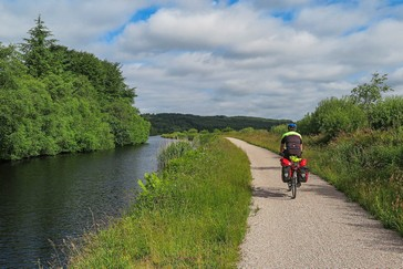 National Cycle Road 78 ('The Caledonia Way') along the Crinan Canal