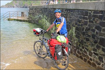 einde van de Devon Coast to Coast in Ilfracombe