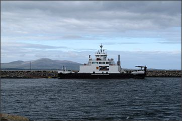 ferry van North Uist naar Harris